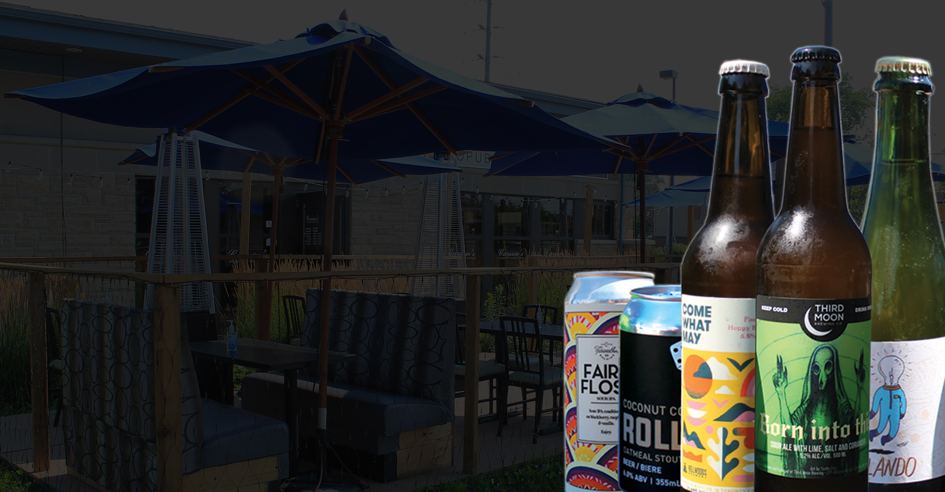 Patio with Craft Beverages